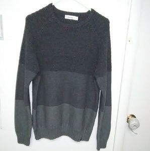 Men's Calvin Klein tri color pullover sweater